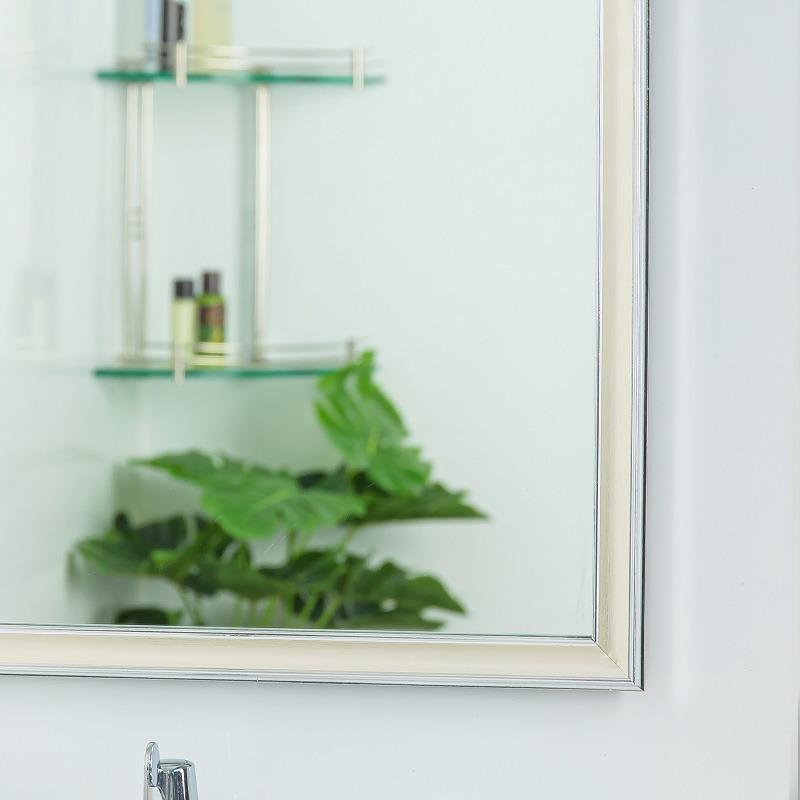 gương nhà tắm màu bạc