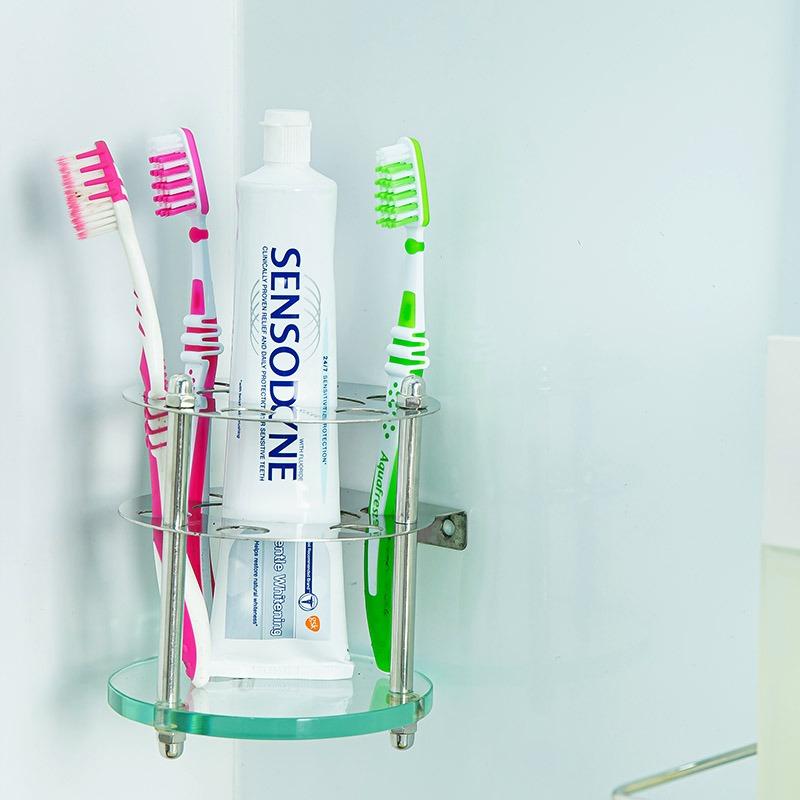 kệ góc phòng tắm để bàn chải đánh răng
