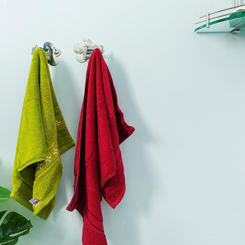 móc áo phòng tắm chia 3