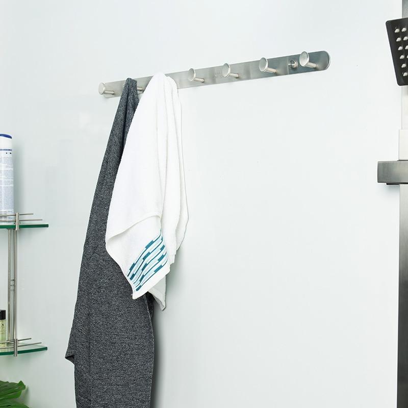móc treo quần áo inox phòng tắm