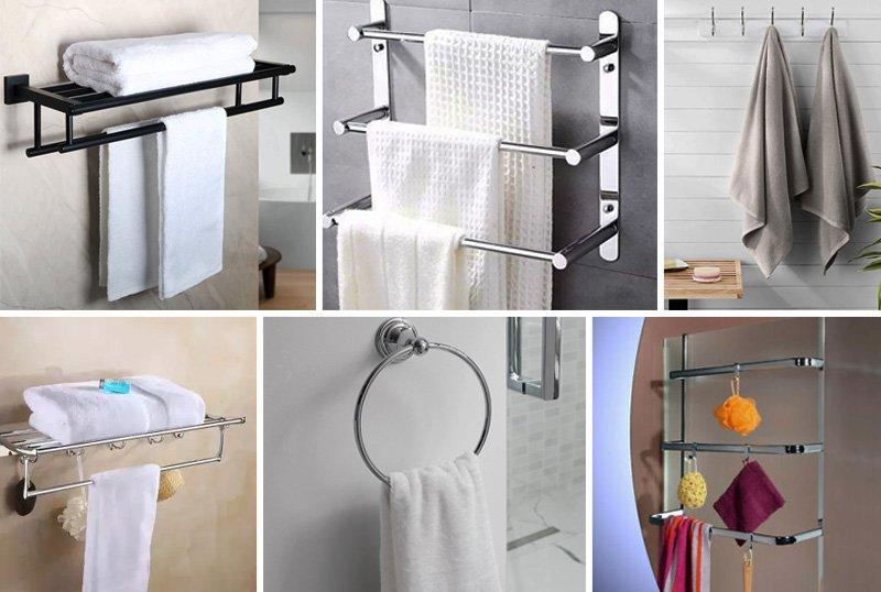 các loại giá treo khăn trong phòng tắm