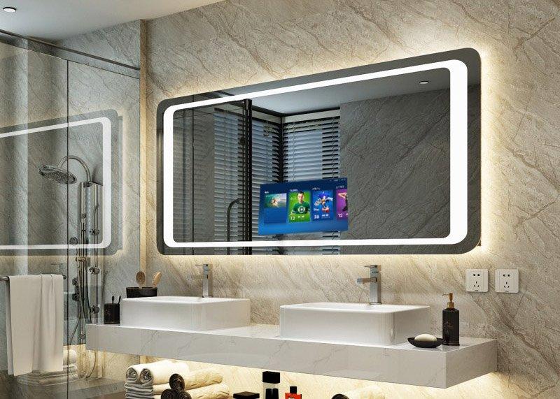 gương nhà tắm thông minh