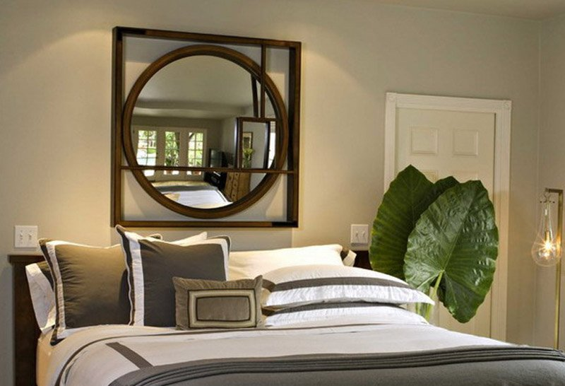 gương phong thủy phòng ngủ