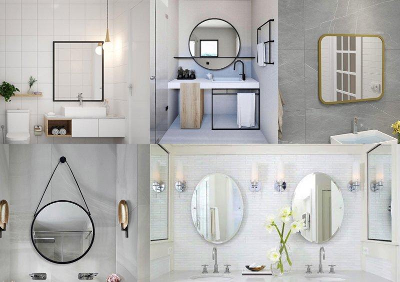 gương treo tường minimalism