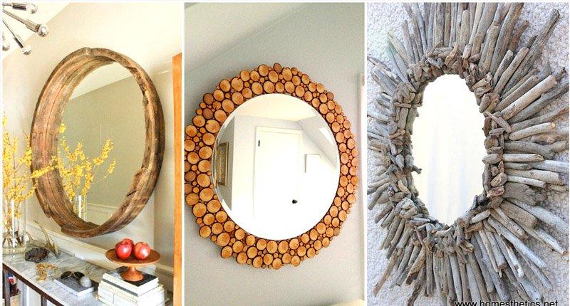 gương tròn sáng tạo
