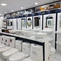 showroom thiết bị vệ sinh caesar