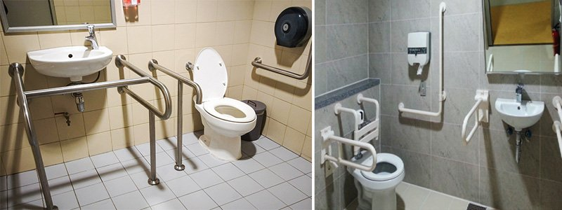 tay vịn nhà tắm