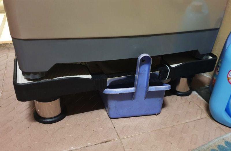 chân đế chống rung cho máy giặt