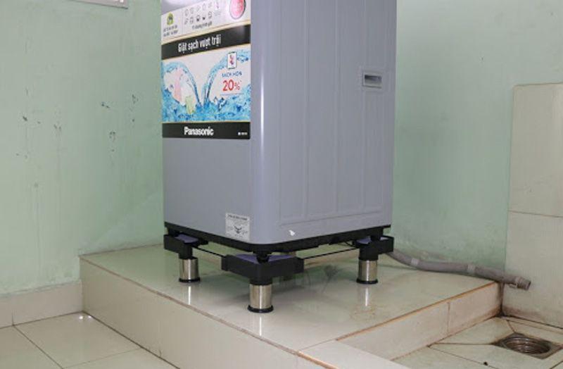 công dụng của chân đế máy giặt