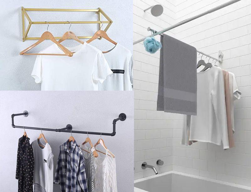 giá treo quần áo nhà tắm