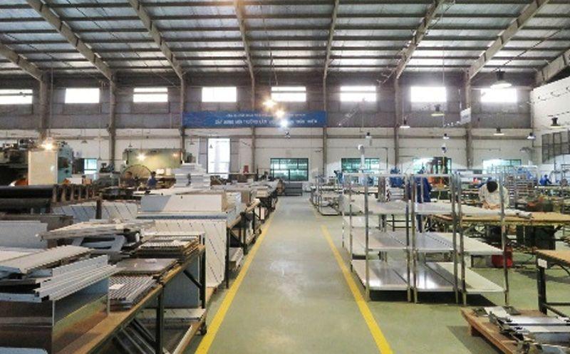 xưởng sản xuất inox