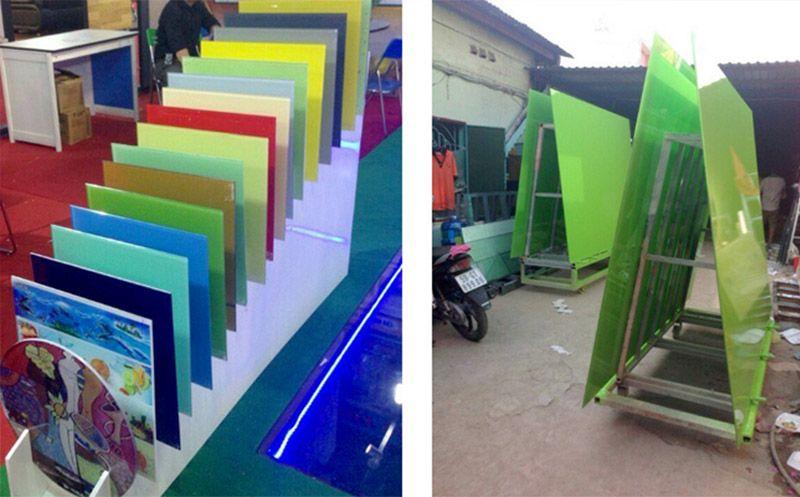 xưởng sản xuất kính màu Kibath