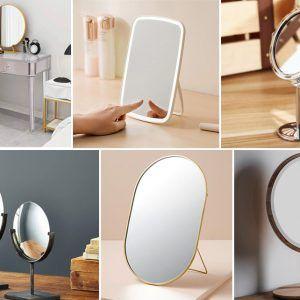 các loại gương trang điểm để bàn