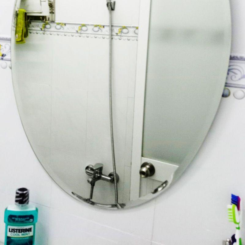 gương hình oval