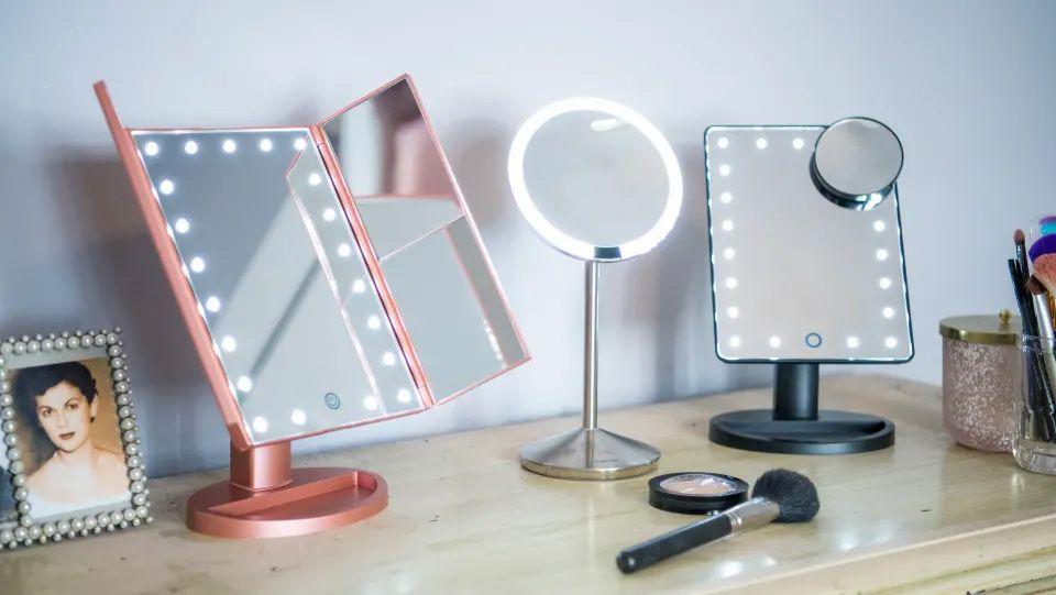 gương trang điểm để bàn đẹp