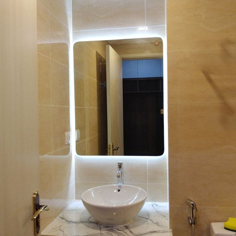 gương đèn led hắt sáng