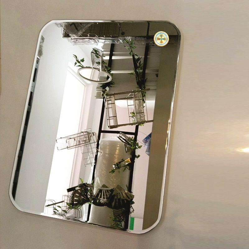 gương gắn tường hình chữ nhật đẹp