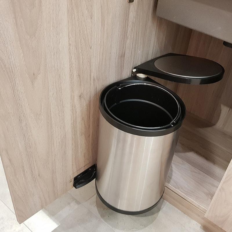 thùng rác đơn âm tủ