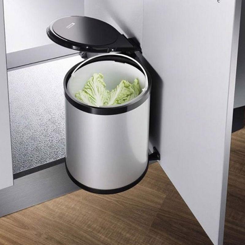 thùng rác thông minh tủ bếp