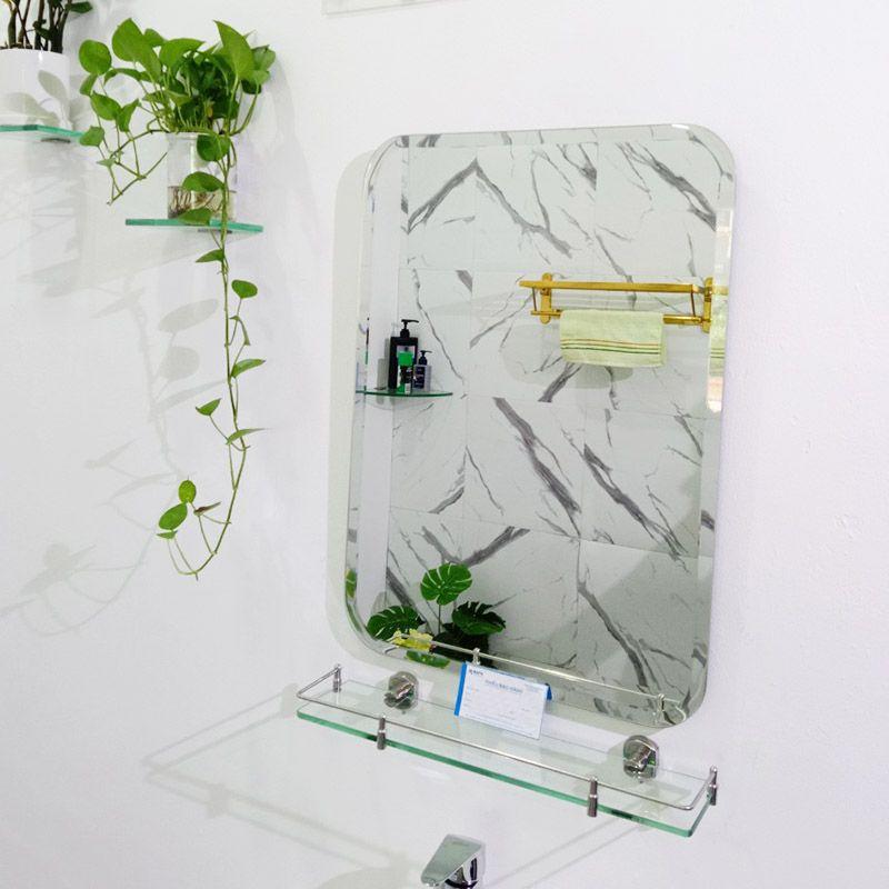 bộ gương kệ nhà vệ sinh