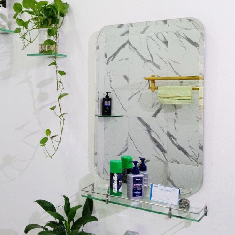 combo gương kệ nhà vệ sinh