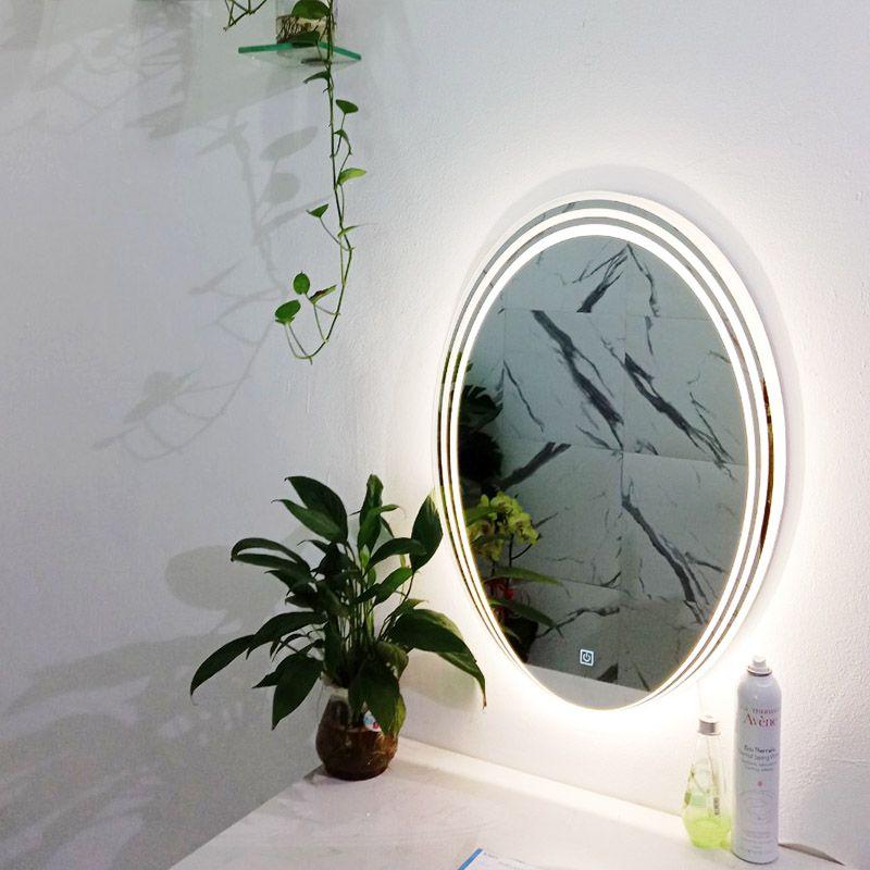 gương đèn led nhà vệ sinh